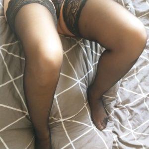 Sexy Schwarze Strapse